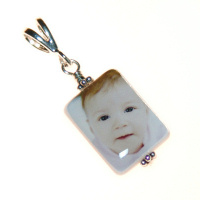 13mm x 18mm Vertical Mother of Pearl Pendant